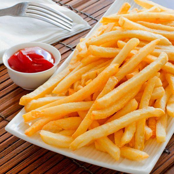 Картофель фри в Чайхане Fusion
