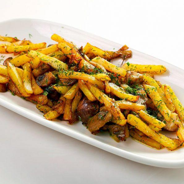Картофель с грибами в Чайхане Fusion