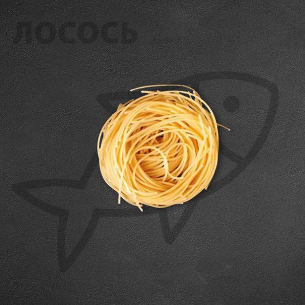 Паста с лососем (спагетти) в Чайхане Fusion