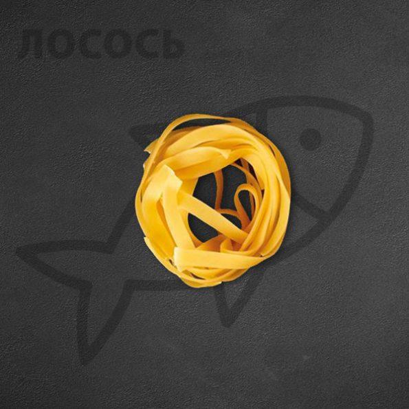 Паста с лососем (тальятелле) в Чайхане Fusion